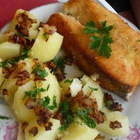 Obiadki w nowej kuchni - łosoś i nie tylko :)