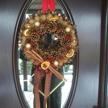 Mój świąteczny dom...:)
