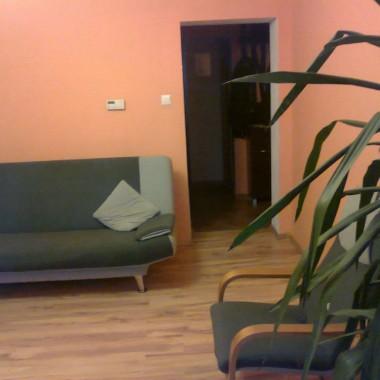 Pokój póki co pusty, do konca nie wiem jak tu ustawić jeszcze szafę i jakiś kącik tvMąż bardzo lubi kwiaty którymi zabiera mi cenna przestrzeń :)