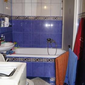 Stara łazienka - przed remontem