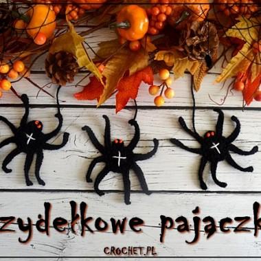 Halloweenowe pajączki