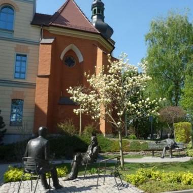 spacer rozpoczął się od wzgórza uniwersyteckiego gdzie jest kościół pod wezwaniem św Wojciecha