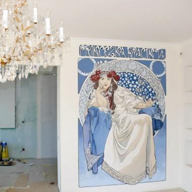 Malarstwo ścienne, malowanie wnętrz, dekoracje ścian, dekorator