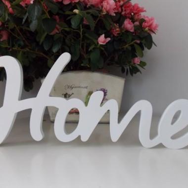 Napisy Home, Dream na ścianę - napisy ozdobne