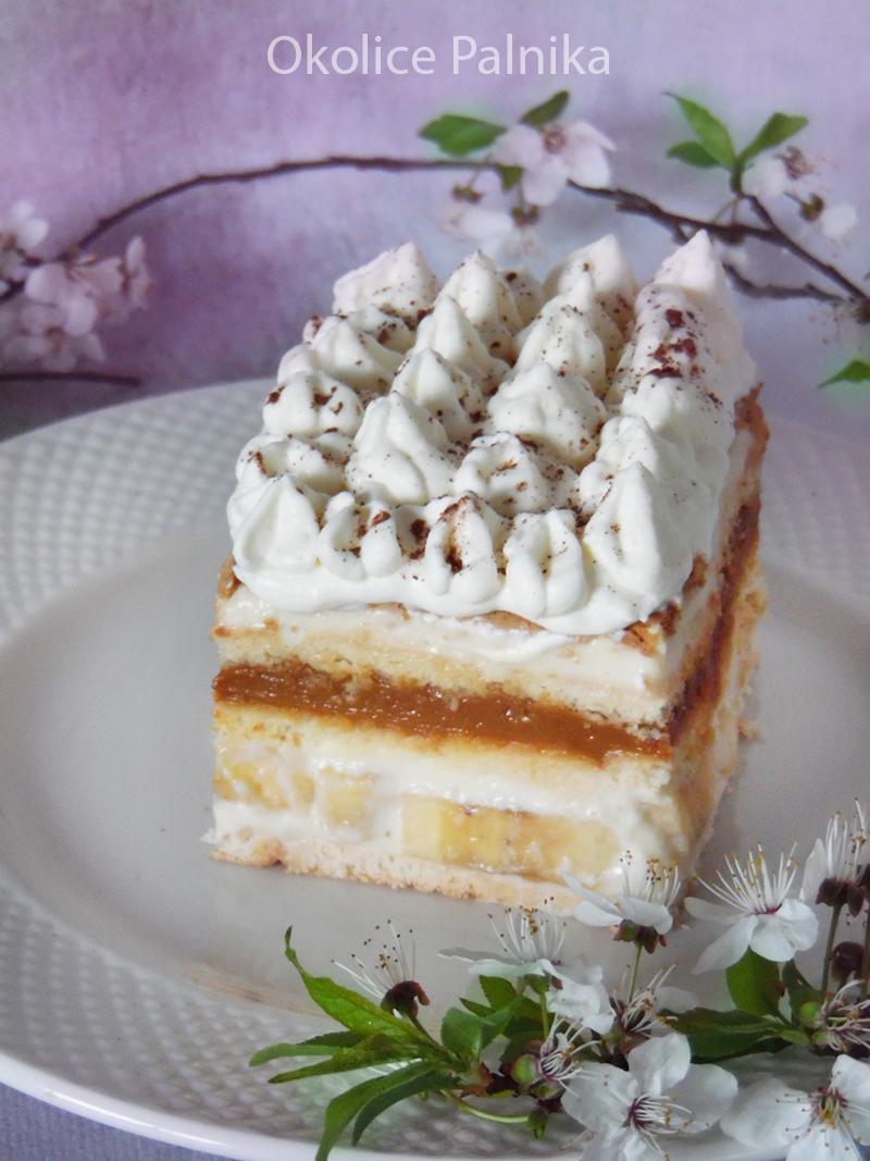 ciasto bez pieczenia bananowa krówka