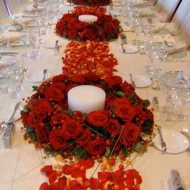 dekoracje stołu c.d