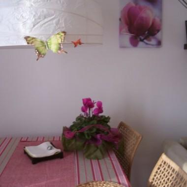 salon a raczej salonik polaczony z kuchnia i korytarzem