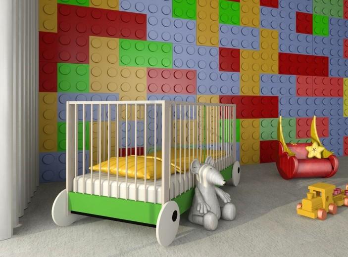 Pozostałe, Panele ścienne 3D firmy ZD Design - Panel 3d BLOKK firmy ZD Design