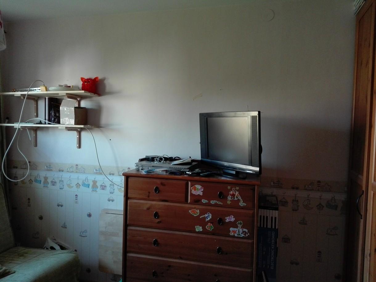 Sypialnia, Metamorfoza mojej sypialni - sciana przed remontem
