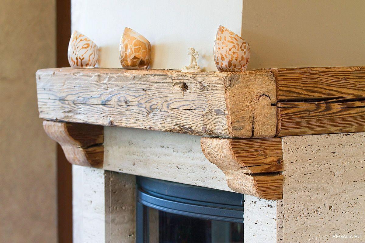 Zdjęcie 99 W Aranżacji Blaty I Półki Ze Starego Drewna