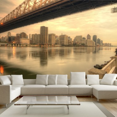Most do Nowego Jorku - Fototapeta.http://demur.pl/inspiracje/fototapeta_energetyczny_salon