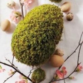Wielkanocna dekoracja stołu a'la Martha Stewart