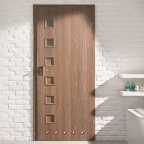 Jakie drzwi do łazienki?