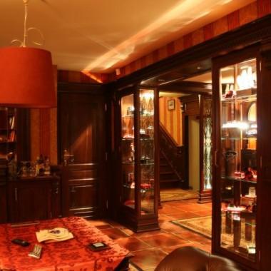 Piękne, stylowe wnętrze prywatne