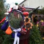 Ogród, Nieśmiała jeszcze jesień - kapelusz z drutu się sam prosił o zrobienie