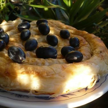 ..............i greckie ciasto z kozim serem i z fetą ..................pychota...............