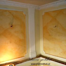 Stiuk,stiuki,scagliola,stucco marmo.Marmoryzacje kolumn,ścian.