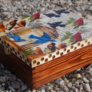 Herbaciarka w rajskie ptaki