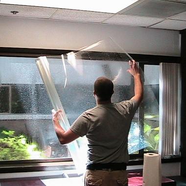 Folie okienne przeciwsłoneczne i ochronne