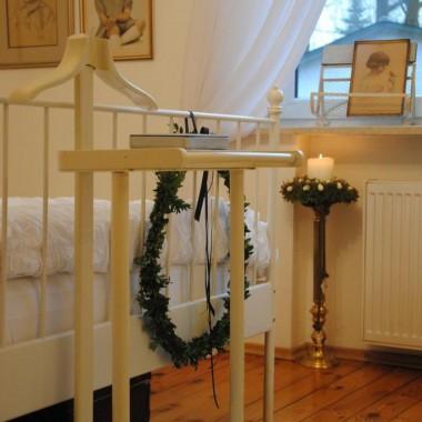 Sypialnia też gotowa na Święta :) a dziś ,w taka pogodę to chyba bardzo miłe miejsce na wygrzanie się &#x3B;)