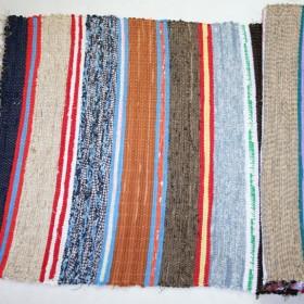 Ręcznie tkane kolorowe chodniki