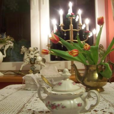 W kuchni wieczorową porą:)