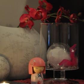 Moje M skąpane w blasku świec &#x3B;-)