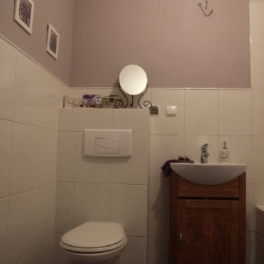 Łazienkowe początki:)