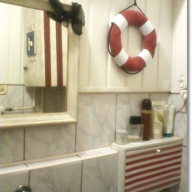 Morskie klimaty w mojej łazience