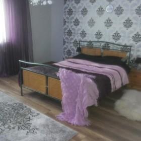 sypialnia w świątecznym wydaniu