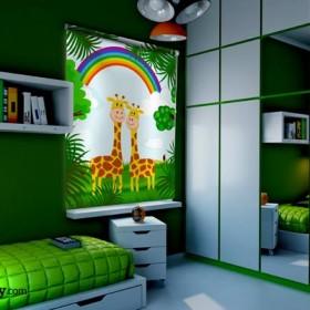 Fotorolety w pokoju dziecięcym
