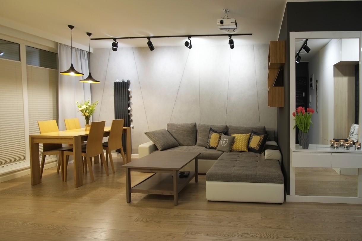 Domy i mieszkania, Nowoczesne wnętrze od pracowni 4Rooms Studio