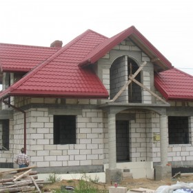 Domek w budowie