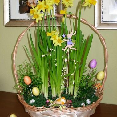 Moja jadalnia po Wielkanocy :)