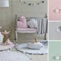 Kupię, Pokój dziecięcy / Nasi mali zadowoleni klienci - Kolekcja BUBBLY doskonale sprawdzi się w pokoju małej księżniczki. W komplecie polecamy: dywan, kosz na zabawki i koc do otulania.