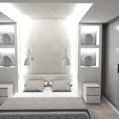 Dom w Markach - sypialnia