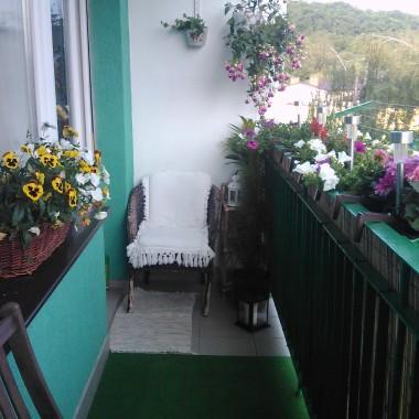 Balkonowo : Jeszcze majowo &#x3B;)