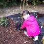 Ogród, Ogród wiosną... - Pomoc mojej córci nieoceniona