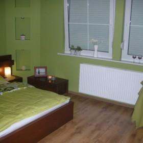 sypialnia po drobnych zmianach