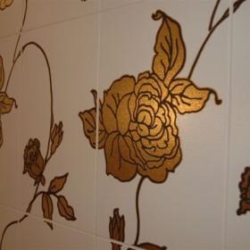 Łazienka w kwiatach...