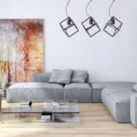 Lampa Cube 3 - idealna do każdego wnętrza