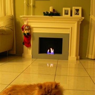 Witam mala przeróbka , kominek w pokoju dziennym..i juz troszke dekoracji swiątecznych
