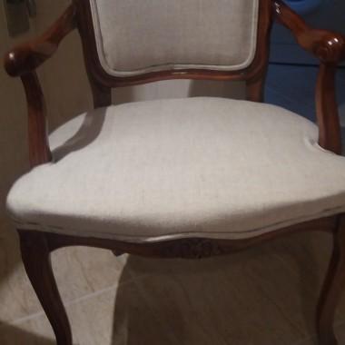 Renowacja krzesla