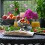 Balkon, Wrześniowy weekend - czas kończyć śniadanie