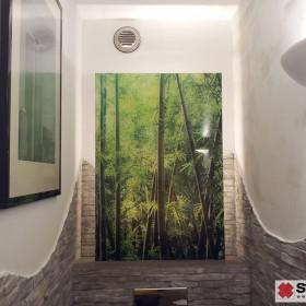 Masy dekorayjne szpachlowane na scianę w łazience