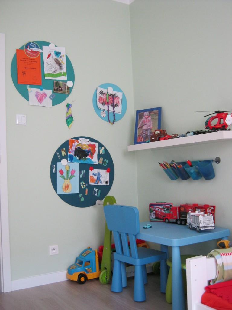 Pokój dziecięcy, Pokój czterolatka - Kącik do prac twórczych...