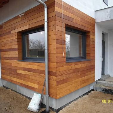 Elewacja drewniana. Realizacja w Cigacicach.1