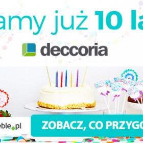 10 lat - cała dekada! Jak świętujemy?