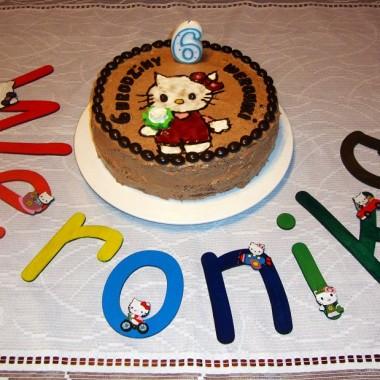 Dodatek do tortu urodzinowego dla mojej 6-letniej chrześniaczki