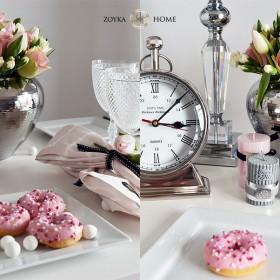 Aranżacja stołu w stylu glamour
